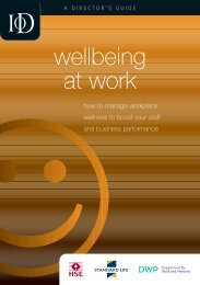 guide to wellbeing at work