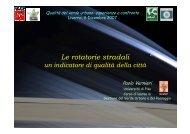 Le rotatorie stradali, un indicatore di qualità della città - Dott. Paolo ...