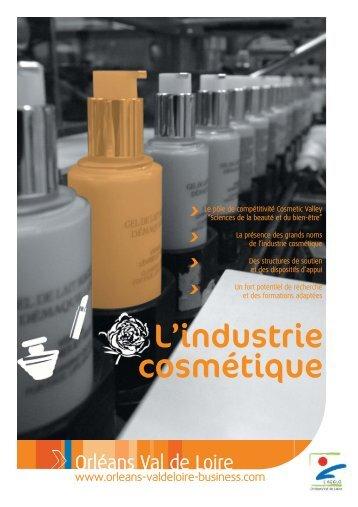 L'industrie cosmétique - Orléans Val de Loire Business