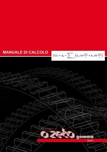 MANUALE DI CALCOLO - A ZETA Gomma