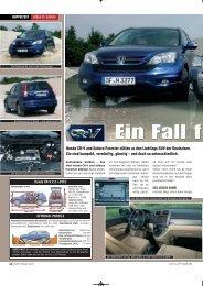 Vergleichstest Forester 2.0D - OFF ROAD Nr.9.2011 - Subaru