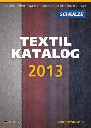 Textil Katalog 2013 - Walter Schulze GmbH