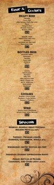 Drink Menu - Page 2
