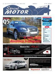 Novo Seat Exeo - Sprint Motor