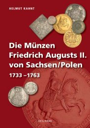 Die Münzen Friedrich Augusts II. von Sachsen/Polen - Gietl Verlag