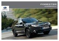 Forester Sondermodelle Edition 2 - Subaru
