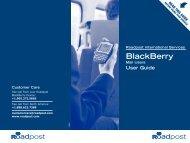 BlackBerry - Roadpost