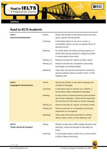 road to ielts general training reading test practice 3 pdf