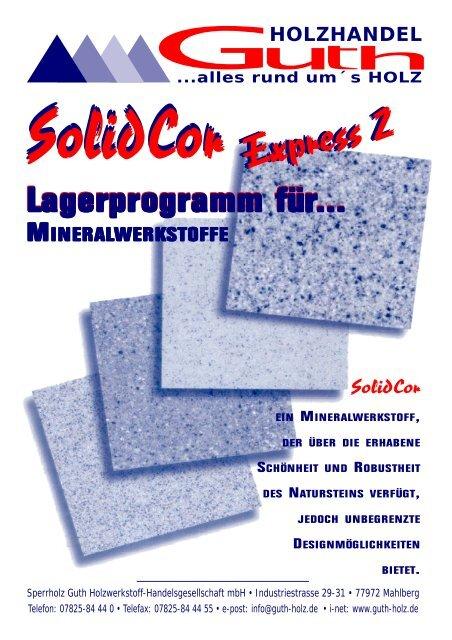 Solid Lagerprogramm..... - Guth-holz.de