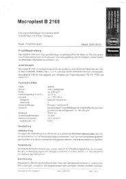 Macroplast B 2168 - Wendisch-PS