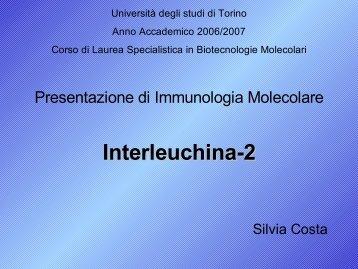 Interleuchina-15 - Università degli Studi di Torino