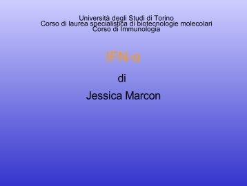 IFN-α - Università degli Studi di Torino
