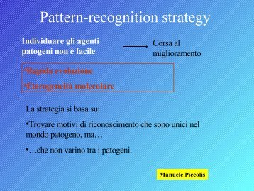 Pattern-recognition strategy