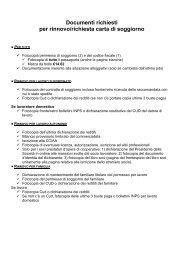 Appuntamento per il rinnovo del permesso di soggiorno - Cisl