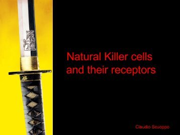 Natural Killer cells and their receptors