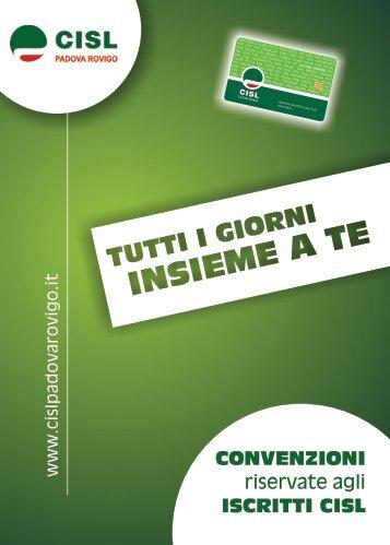 scarica la brochure informativa - Cisl