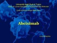 Abciximab - Università degli Studi di Torino