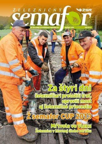 Jún 2013 - ŽSR