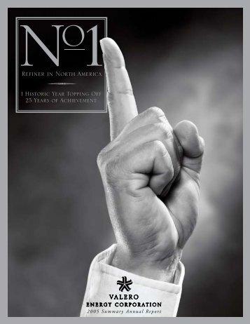 Annual Report 2005 - Valero