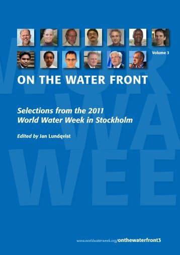 On the Water Front 2011 - World Water Week