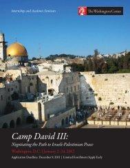 Camp David III 2012 - The Washington Center