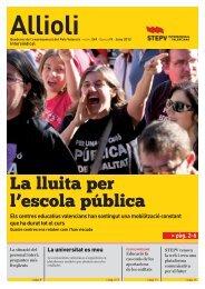 Allioli bàsic - Intersindical Valenciana