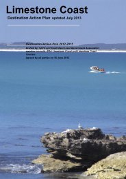 Limestone Coast Destination Action Plan - South Australian Tourism ...