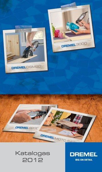 Katalogas 2012 - Dremel