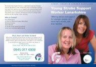 Stroke leaflet - Chest Heart & Stroke Scotland