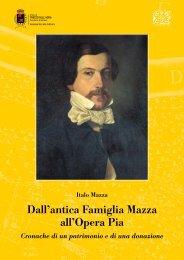 Dall'antica Famiglia Mazza all'Opera Pia