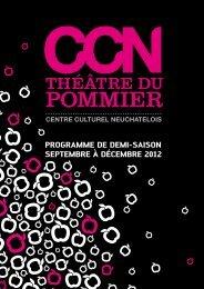 Télécharger le programme - Théâtre du Pommier