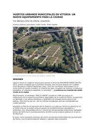 Huertos Urbanos Municipales en VITORIA - Urban-e