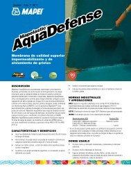 AquaDefense - Mapei
