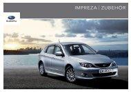 IMPREZA | ZUBEHÖR  - Subaru
