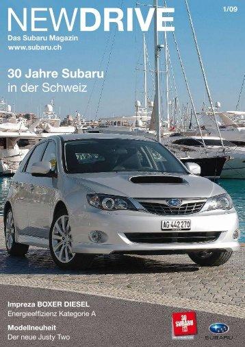 30 Jahre Subaru in der Schweiz