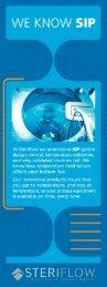 SIP Brochure - Steriflow Valve