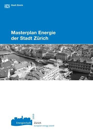 Masterplan Energie der Stadt Zürich (PDF, 24 Seiten, 330 KB)