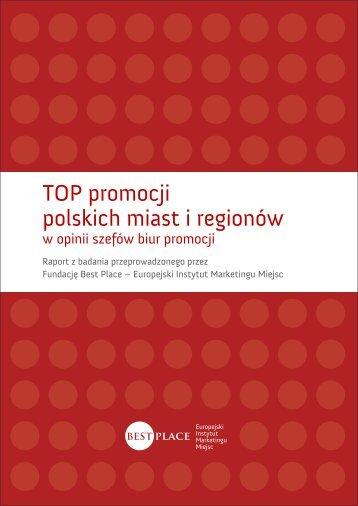 TOP promocji polskich miast i regionów - BEST PLACE | Europejski ...