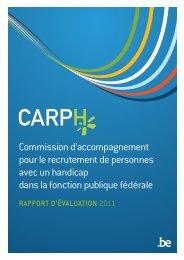 CARPH: Rapport d'évaluation 2011 (couleurs) (PDF, 1.26 ... - Fedweb