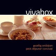 gezellig ontbijten petit déjeuner convivial - Vivabox