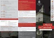la Musica della Cattedrale - Associazione