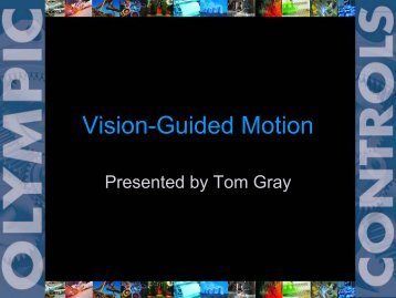 Vision-Guided Motion - Electrical & Computer Engineering