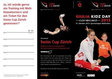 Giulia Kidz Day 2013 - Swiss Cup Zürich