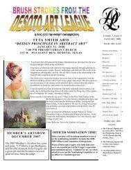 TETA SMITH ARIS - desoto art league
