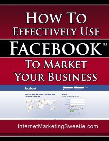 What Facebook Is and Why It Can Be A Tremendous ... - IASECP.com