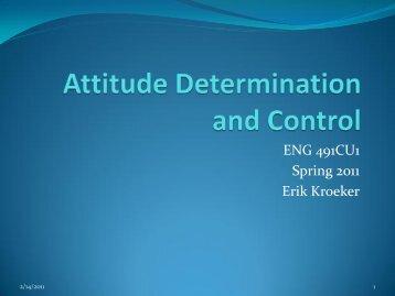 Attitude Determination and Control - AGI