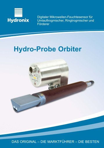 Digitaler Mikrowellen-Feuchtesensor für ... - Hydronix