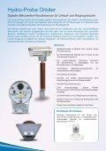 Digitaler Mikrowellen-Feuchtesensor für ... - Hydronix - Seite 2