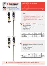 PNEUMATIC OIL PUMPS - Bell Flow Systems
