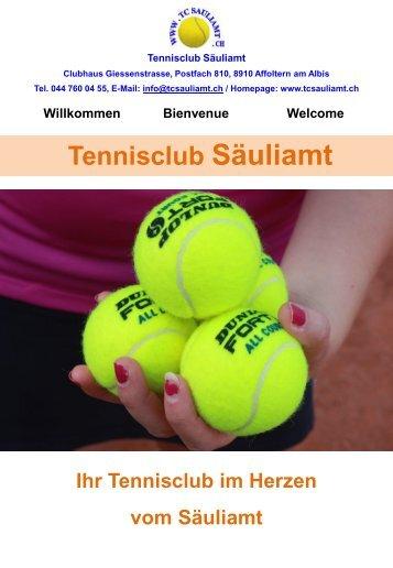 Tennisclub Säuliamt - TC Sauliamt